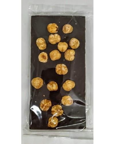 Tavoletta di Cioccolato Fondente con Nocciole intere 120 gr - Gran Torino