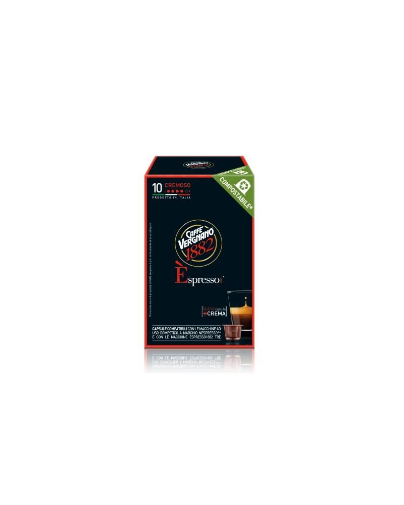 Capsule èspresso cremoso - Caffè Vergnano