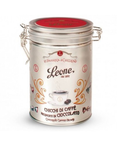 Chicchi di caffè ricoperti di cioccolato - Leone